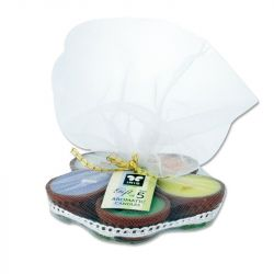 Aromatic Candles Gift Set (Pack of 5)