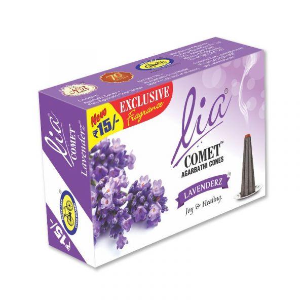 Lavenderz Comet Cones
