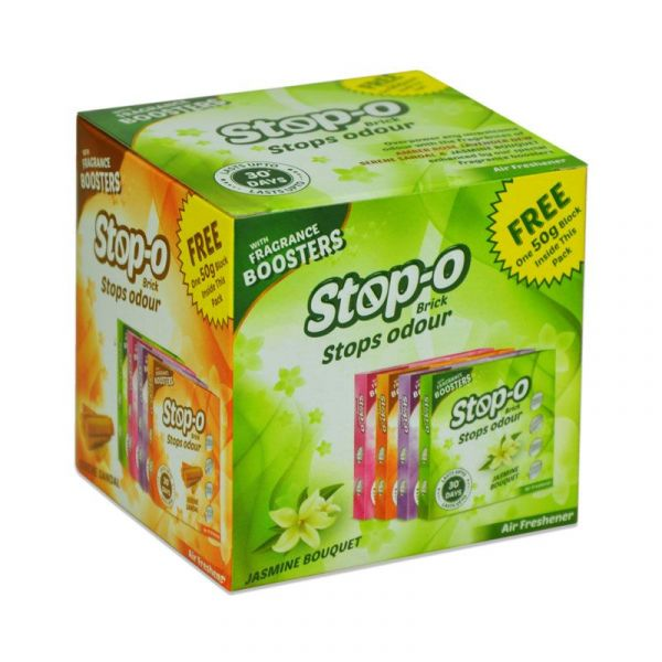Stop-O 4 in 1 Scented Bricks Pack